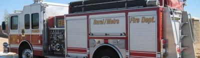 Rural/Metro Fire Truck © Rural/Metro