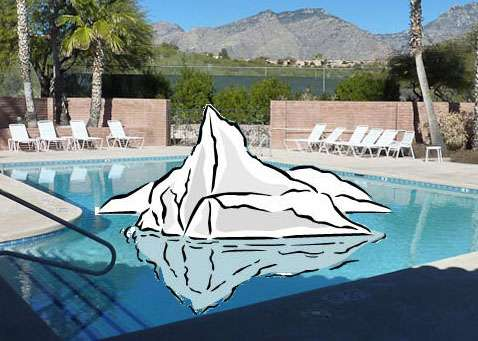 South Pool Not Heated In December January February Sunrise Mountain View Estates